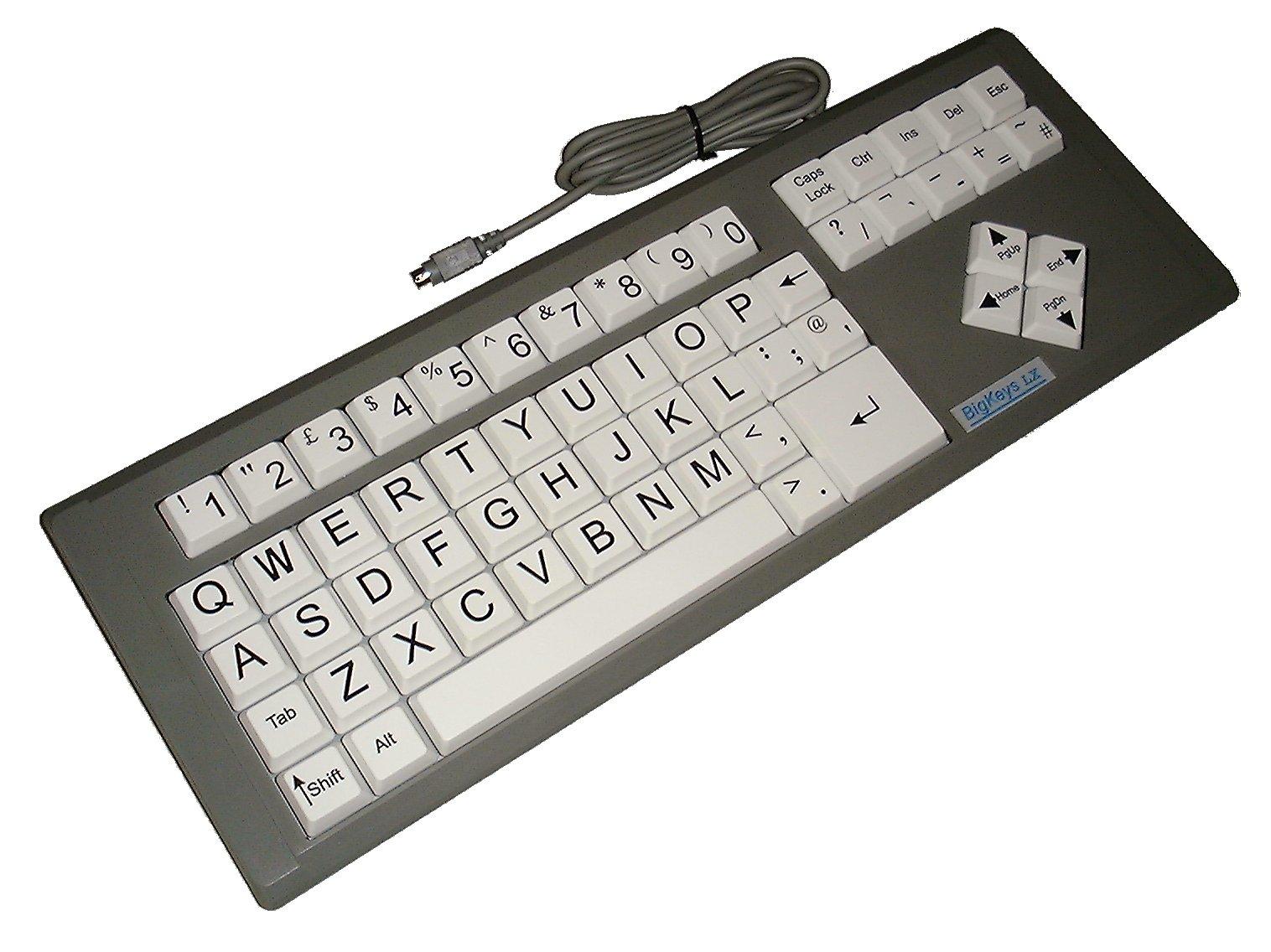 صورة للوحة المفاتيح إل إكس (LX) ذات المفاتيح الكبيرة