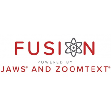 "FUSION ""JAWS + ZOOM TEXT"""